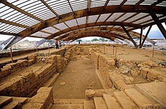 Ausgrabungsstätte in Malia Kreta
