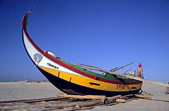 Fischerboot Portugal