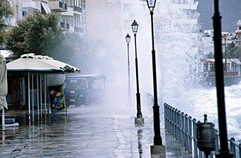 Strandpromenade in Ierapetra Kreta