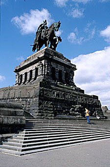 Statue in Koblenz