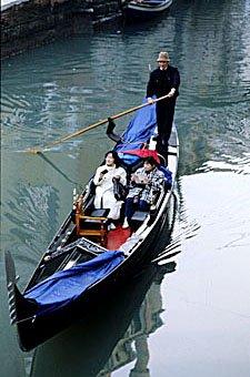 Venezianisches Boot