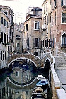 Venezianische Gassen