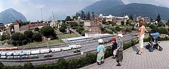 Modelleisenbahn Swiss Miniature