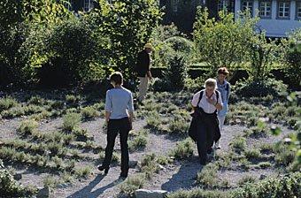 Krätergarten Labyrinth Kartause Ittingen