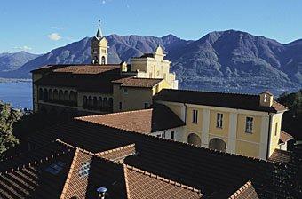 Masdonna del Sasso oberhalb Locarno