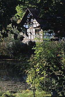 Riegelhaus im Klostergarten Kartause Ittingen