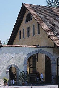 Eingang Kartause Ittingen