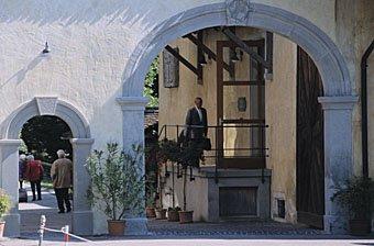 Torbogen Eingang Kartause Ittingen