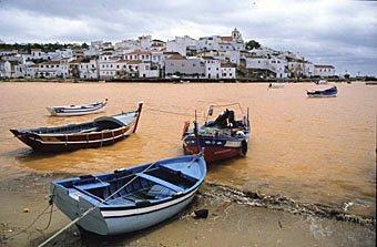 Städtchen an der Algarve