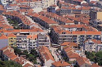 Wohnquartier in Lissabon