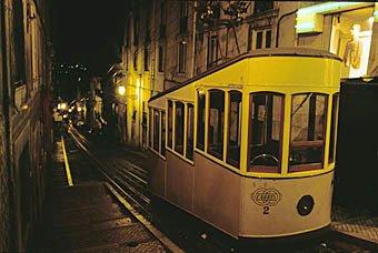 Seilbahn in Lissabon