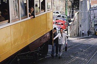 Kabelstrassenbahn in Lissabon
