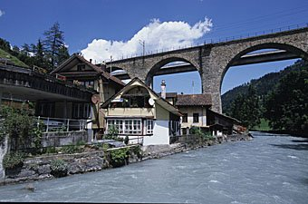 Kanderbrücke bei Frutigen