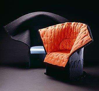 Designer Stühle aus Filz