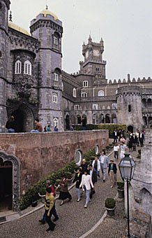 Pena Palast in Sintra Portugal