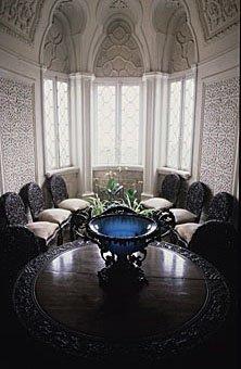 Arabisches Zimmer im Pena Palast in Sintra Portugal
