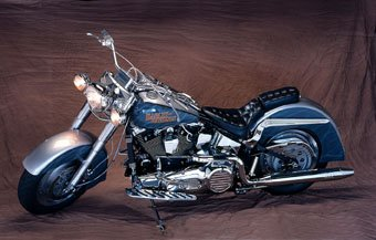 Harley Davidson Motorrad getunt
