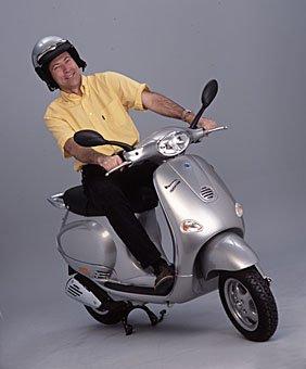 Motorradhelm, Motorroller