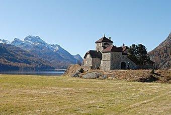 Schloss Crap da Sass in Silvaplana