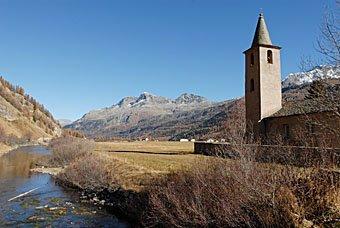 Kirche von Sils-Baseliga