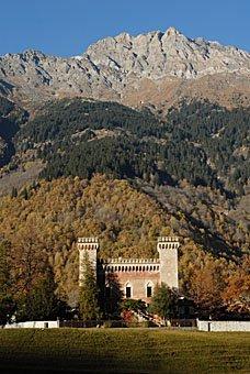 Schloss Castellmur in Stampa