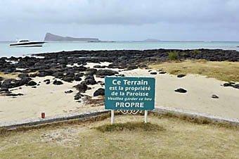 Cap Malheureux an der Nordküste von Mauritius