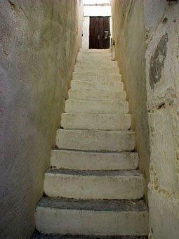 Haustreppe in Kreta