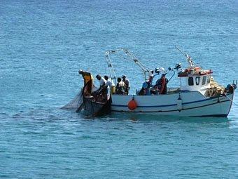 Fischerboot in Kreta