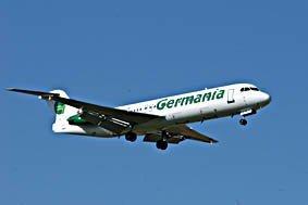 Germania, Flugzeug, Fluggesellschaft