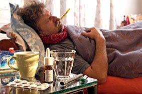 Fieber, Grippe, Krank