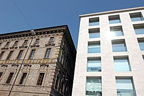 neue und alte Fassade