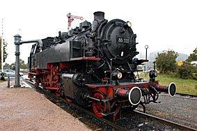 Dampflokomotive Blumberg