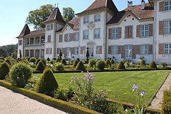 Schlossgarten Schloss Waldegg bei Solothurn