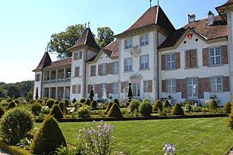Park Schloss Waldegg bei Solothurn