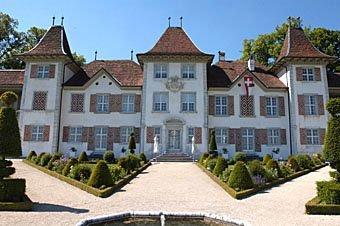 Parkanlage Schloss Waldegg bei Solothurn