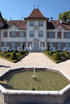 Parkbrunnen Schloss Waldegg