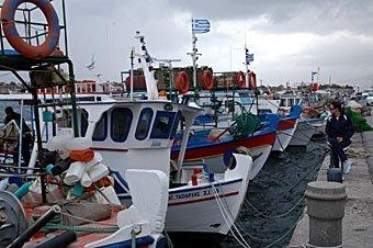 Fischerboote Kreta