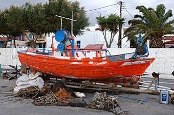 Schiff in Kreta