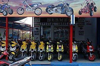 Motorradvermietung Kreta