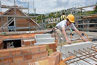 Baustelle in Dättnau bei Winterthur