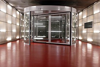 Drehtüre Technorama Winterthur