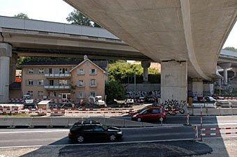 Uetlibergtunnel  Baustelle 2006