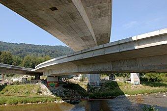 Autobahnbrücken Uetlibergtunnel-Zufahrt