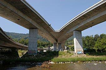 Uetlibergtunnel Autobahnzufahrt
