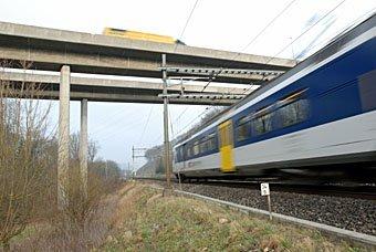 Zuglinie bei Schinznach