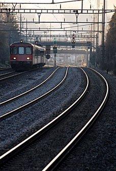 Bahnschienen Winterthur