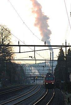 Bahnverkehr Winterthur