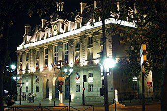 Pariser Stadtgebäude