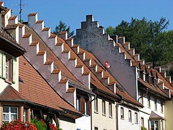 Hausdächer in Löffingen DE