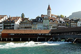 Holzbrücke Thun
